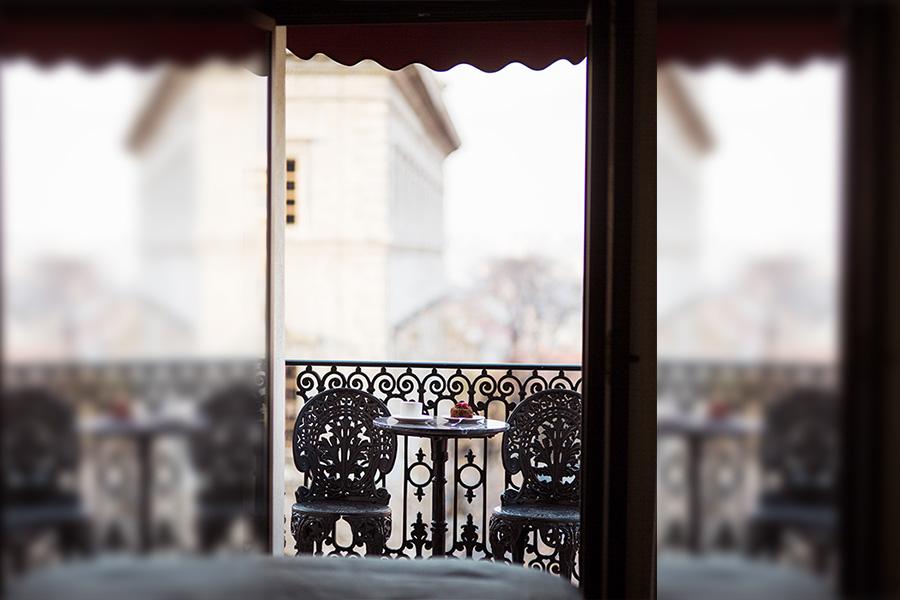 Balkonlu Delux oda
